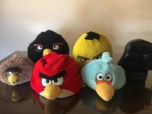 Angry Birds Large Plush Lot in Travis AFB, California