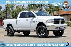 2017 Ram 1500 SLT White =LIFTED= WEEKEND DEAL ONLY = 13K miles in Camp Pendleton, California