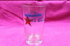 budweiser your town your beer houston pint glass in Kingwood, Texas