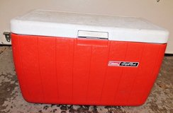 Large Coleman Polylite Cooler / Ice Chest 48 Quarts Model 5286b - Holds 68 Cans in Naperville, Illinois