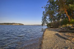 WATERFRONT BUILDING LOT ON PUGET SOUND in Tacoma, Washington