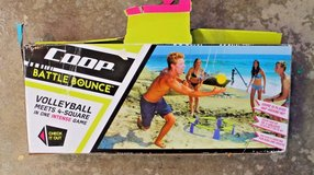 Coop Battle Bounce Backyard/Beach Game - Volleyball Meets 4-Square-New Salvage in Naperville, Illinois