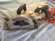 Vintage Black Decker 7-1/4 Worm Drive Saw Woodworking Tool #3051 in Hopkinsville, Kentucky