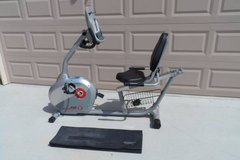 Schwinn Recumbent Stationary Exercise Bike w/Mat in Travis AFB, California