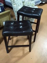 "Closeout 24"" or 29"" ""Saddle"" Barstools in Beaufort, South Carolina"