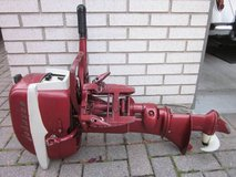 "Johnson 5.5 HP Seahorse Outboard Motor Model CD-13A Evinrude ""Cruis A Day"" Boat Fuel Tank Gas Ca... in Aurora, Illinois"