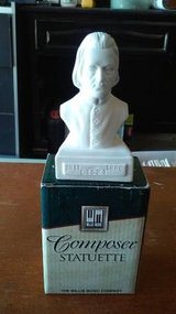 PORCELAIN COMPOSER STATUETTE in Joliet, Illinois