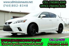 2015 Lexus CT 200h Base Ask for Louis (760) 802-8348 in Camp Pendleton, California