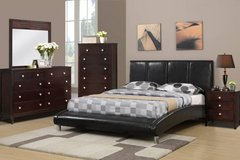 New QUEEN OR FULL Size Black Arched Bed Frame FREE DELIVERY in Camp Pendleton, California