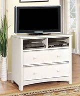 New White Hardwood Dresser or TV Media Stand Chest  FREE DELIVERY in Camp Pendleton, California