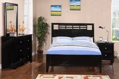 New Black Hardwood TWIN Bed + Dresser + Nightstand FREE DELIVERY in Camp Pendleton, California