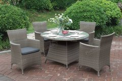 New Dining Table and 4 or 6 Chairs Outdoor Set Patio FREE DELIVERY in Camp Pendleton, California