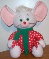 Vintage Starwink Holiday Stuffed Mouse in Orland Park, Illinois