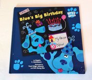 Come To Blue's Big Birthday 1998 Hard Cover Book Blue's Clues Age 2 - 5 Simon & Schuster in Morris, Illinois