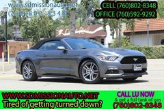 2016 Ford Mustang EcoBoost Premium Ask for Louis (760)802-8348 in Camp Pendleton, California