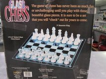 Glass Chess set in Cherry Point, North Carolina
