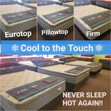COOL TO THE TOUCH SLEEP TECHNOLOGY - Eurotop, Pillowtop, and Firm in Bolingbrook, Illinois