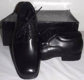 New! Boys Sz 2 Bonafini Black Leather Dress shoes ~Toddler / Youth in Orland Park, Illinois