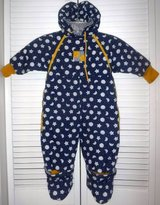 Gymboree XS 6-12mo Hooded Snowsuit / Bunting in Orland Park, Illinois