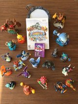 Skylander Giants Wii Game and Guys! Complete Set - Great Gift in Joliet, Illinois