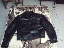 Leather Motorcycle Jacket Ladies Size Small (Eatonton) in Warner Robins, Georgia