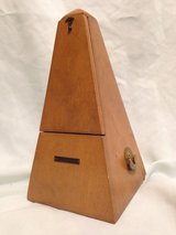 Vintage Seth Thomas Metronome - All Wood Functional Art Piece in Pearland, Texas