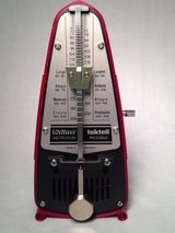 Metronome: Wittner Taktell made in Germany-- No Batteries Required! in Pearland, Texas