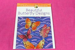 adult coloring book beautiful butterfly designs creative haven in Kingwood, Texas