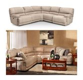 Furniture Row Power Recline Sectional In Dothan, Alabama
