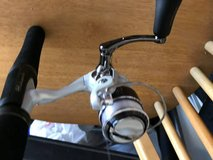"Shakespeare Ugly Stick 1 Piece Ultra Lite 4'8"" Pflueger reel in Algonquin, Illinois"