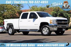 2010 Chevrolet Silverado 2500HD LTZ = 98K miles = Chevy Diesel 4x4 in Camp Pendleton, California