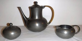 Vintage Royal Holland KDM Pewter Tea / Coffee 4pc Serving Set in Orland Park, Illinois