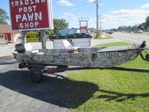 **REDUCED!!**SEARS 1972 15' FLAT BOTTOM BOAT in Cherry Point, North Carolina