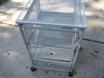HEAVY MESH UTILIY CART 3 DRAWERS in Naperville, Illinois