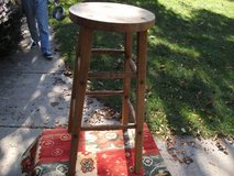 STOOL OR PLANT STAND ALL OAK in Naperville, Illinois