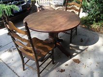 DROP LEAF TABLE & CHAIRS in Naperville, Illinois