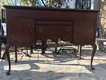 : ) Vintage Buffet / Sideboard  Perfect as it is or Great to Paint !! in Lockport, Illinois