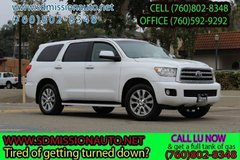 2011 Toyota Sequoia Limited Ask for Louis (760) 802-8348 in Camp Pendleton, California
