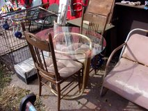 Small Table With Two Chairs Set in Fort Riley, Kansas