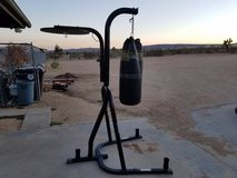 EVERLAST Dual-Station Heavy Bag and Speed Bag Stand in Yucca Valley, California