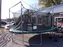 Trampoline With Cover and Safety Net in Fort Riley, Kansas
