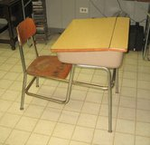 VINTAGE 1950's - 1960's Child's School Desk in Aurora, Illinois