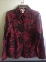 Women's button down Blouse Coldwater Creek size M in Bolingbrook, Illinois