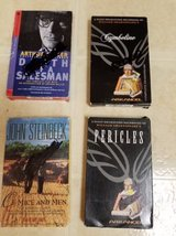 Vintage book classics on cassettes in Camp Pendleton, California