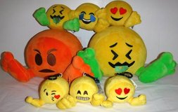 New! 8 Plush Emoji Characters in Orland Park, Illinois