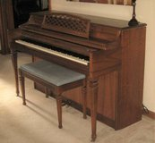 VINTAGE KIMBALL ELECTRAMATIC CONSOLETTE PLAYER PIANO in Oswego, Illinois