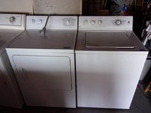 GE Matching Washer and Dryer Set in Fort Riley, Kansas