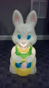 VINTAGE EASTER BUNNY BLOW MOLD in Lockport, Illinois