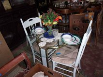 Table and Two Chairs Set in Fort Riley, Kansas