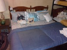 Complete King Size Bed in Fort Riley, Kansas
